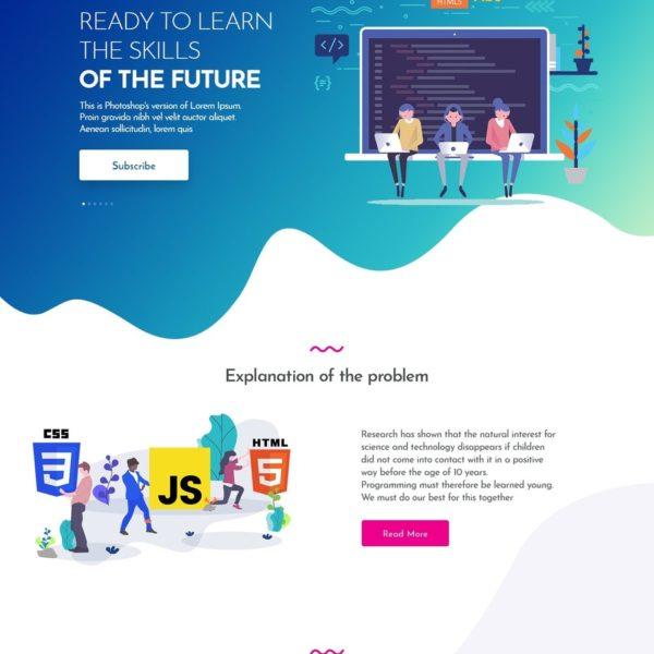 Moderne Webseite mit Wordpress, Joomla und viele andere.
